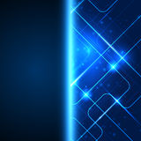Technology background with space for your text. Stock Images