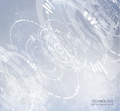 Technology background. Vector EPS10. Royalty Free Stock Images