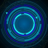 Technology background vector. Stock Image