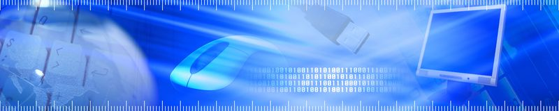 Technology banner. Royalty Free Stock Images