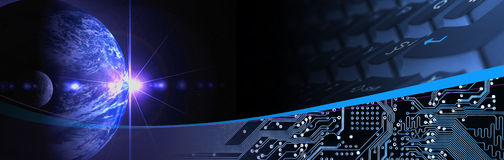 Technology Banner Stock Image