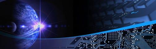 Technology Banner stock image