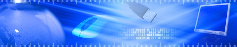 Technology banner. 