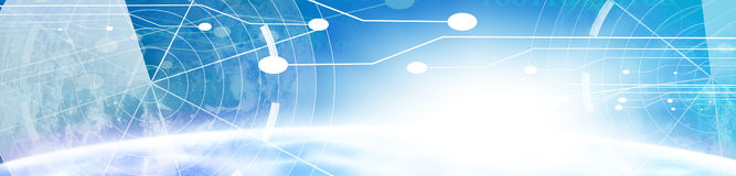 Technology banner Stock Images
