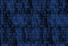 Technology binary background Royalty Free Stock Photography