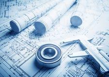Free Technology Blueprints Royalty Free Stock Image - 30602456