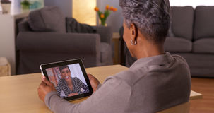 Technology bringing family members together Royalty Free Stock Photography