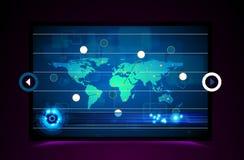 Technology Business Data Stock Photo