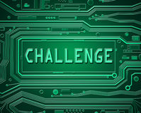 Technology challenge concept. Stock Photo