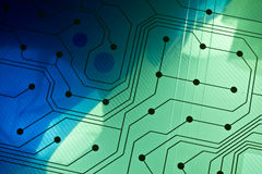 Technology circuit Royalty Free Stock Photo