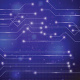 Technology circuit board background Royalty Free Stock Photos
