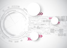 Technology Circuit Speed Background. Technology Circuit Pink Speed Background Stock Photo