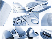 Technology collection stock photo