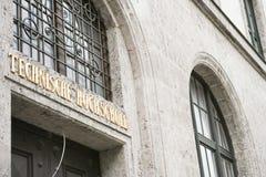Technology College Munich Royalty Free Stock Image