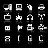Technology and communication design elements Royalty Free Stock Photo