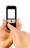 Technology communication phone Stock Images