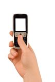 Technology communication phone Royalty Free Stock Images