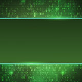 Technology computer digital data code background Stock Image
