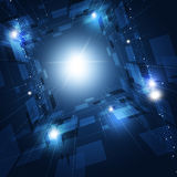 Technology Concept Abstract Background Royalty Free Stock Photos