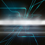 Technology concept abstract background. Vector Stock Photo