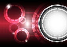 Technology concept background. Button technology concept background design Stock Photography