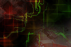 Technology concept. Background can use the Internet, print advertising and design Stock Image