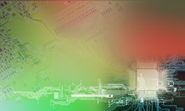 Technology concept. Background can use the Internet, print advertising and design Royalty Free Stock Images