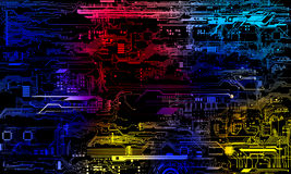 Technology concept. Background can use the Internet, print advertising and design Stock Photos