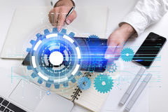 Technology concept Royalty Free Stock Photo