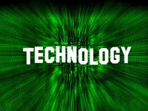 Technology concept wallpaper Stock Photography