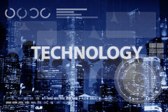 Technology Connection Online Networking Medias Concept Royalty Free Stock Photos