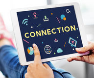 Technology Connection Online Sharing Multimedia Concept Royalty Free Stock Photo