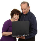 Technology couple Royalty Free Stock Images