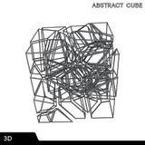 Technology cube. Stock Photography
