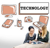 Technology Data Digital Internet Innovation Tech Concept Stock Photography