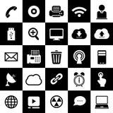 Technology design interface icon. Set Royalty Free Stock Photo