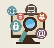 Technology design Royalty Free Stock Photography