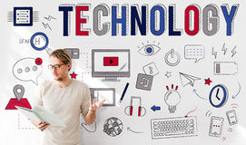 Technology Digital Communication Multimedia Device Concept Stock Photography