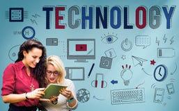 Technology Digital Communication Multimedia Device Concept Stock Photo