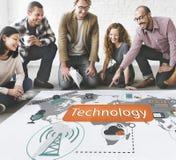Technology Digital Evolution Innovation Concept Royalty Free Stock Photo