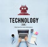 Technology Digital Evolution Internet Science Concept Stock Image