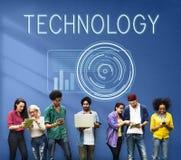 Technology Digital Innovation Futuristic Advanced Concept Royalty Free Stock Photography
