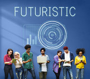 Technology Digital Innovation Futuristic Advanced Concept stock photography