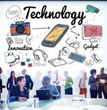 Technology Digital Innovation Internet Science Concept Royalty Free Stock Image