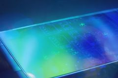 Technology electronics lcd engineering concept Royalty Free Stock Image