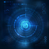 Technology element. Technological background with technological elements. techno illustration Stock Images