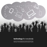 Technology for Everybody - Design Concept Stock Photos