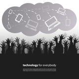 Technology for Everybody - Design Concept Stock Photos