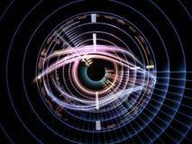 Technology eye royalty free illustration