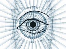 Technology eye vector illustration